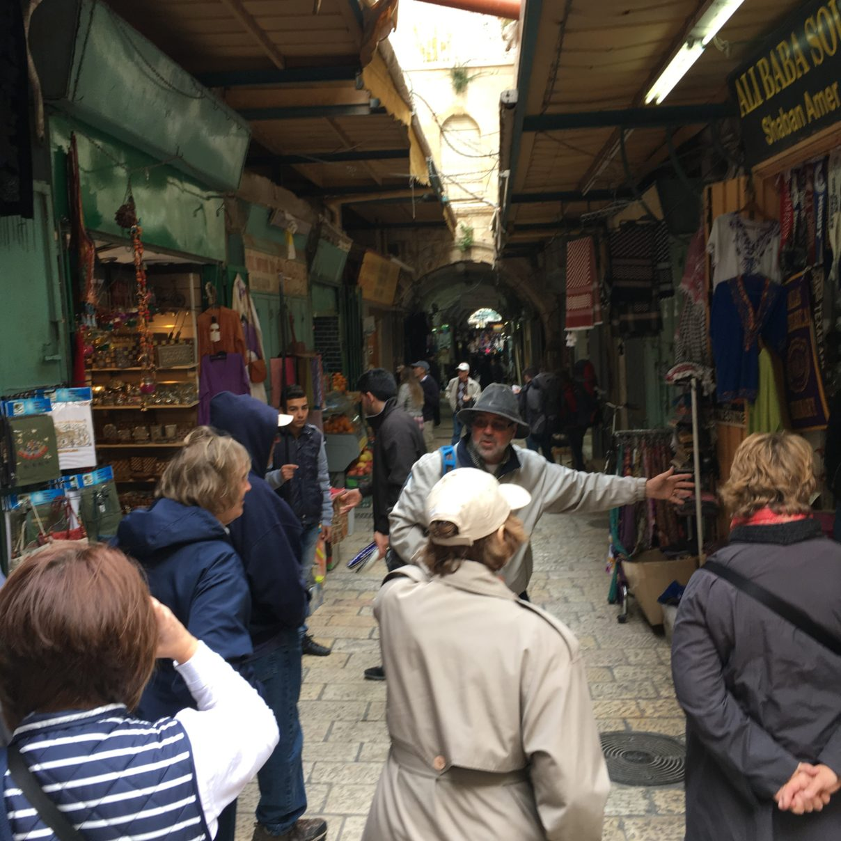 Shopping at the Old City of Jerusalem
