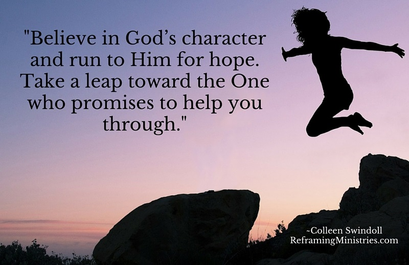 Believe in God's character