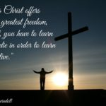Jesus Christ offers you