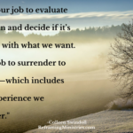 It's not our job to evaluate