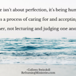 Life isn't about perfection