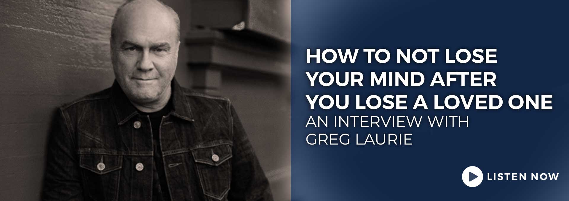 An Interview with Greg Laurie