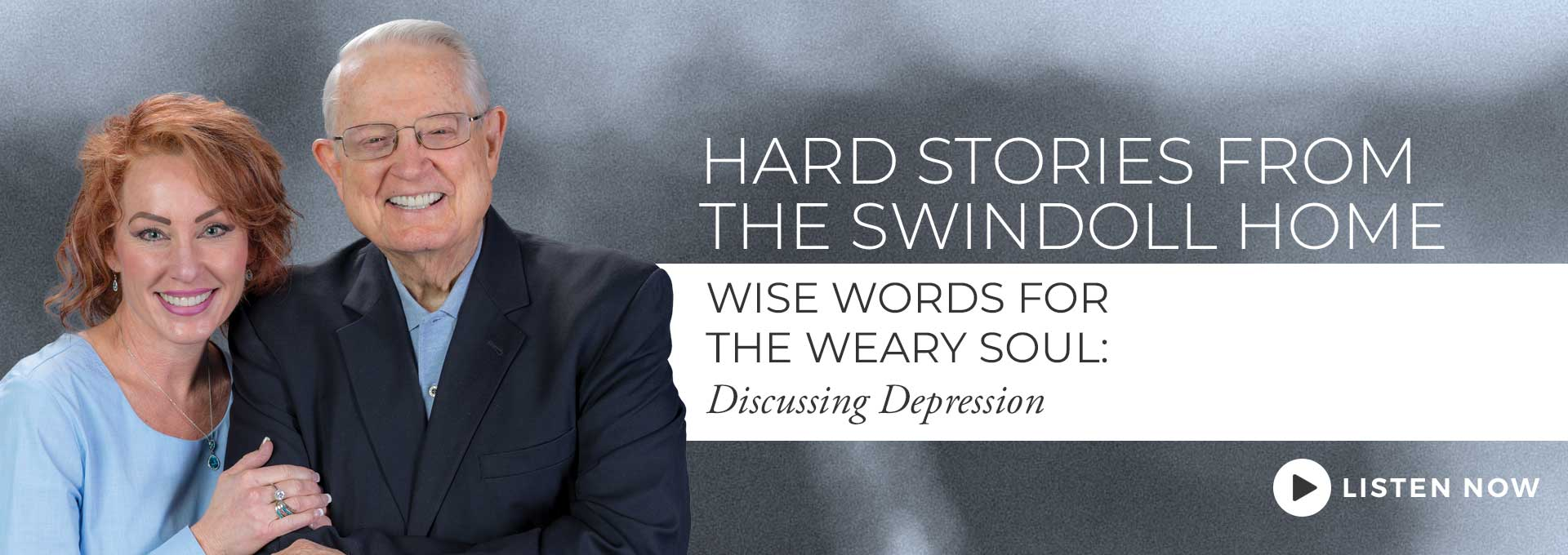 An Interview with Chuck Swindoll discussing depression